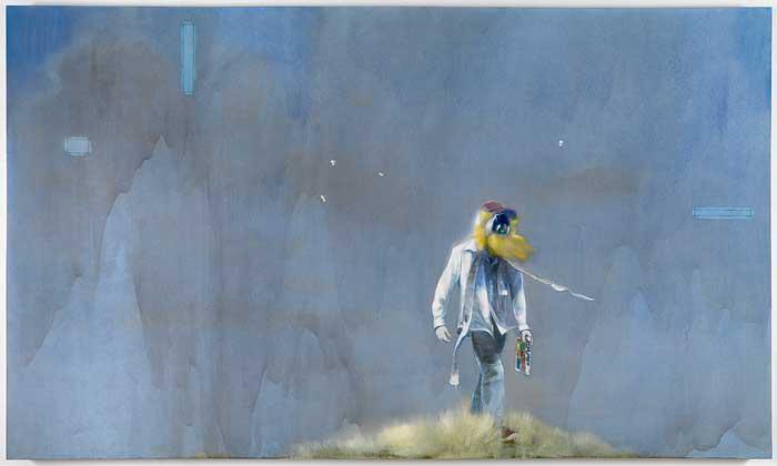 """""""1989"""" by Nigel Cooke   Andrea Rosen Gallery"""